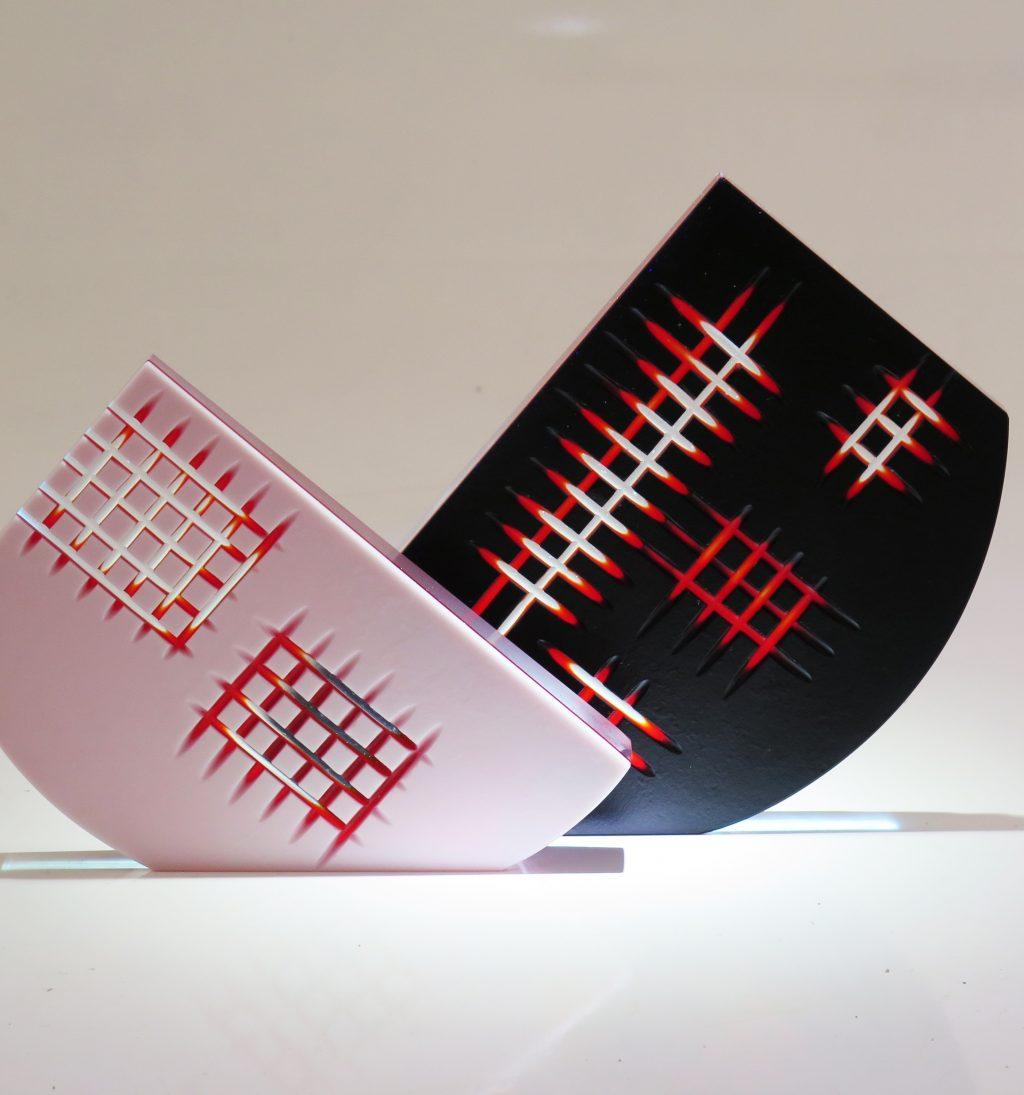 Tabloids (two Pieces) by Anne Sorensen